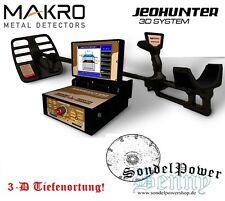 Jeohunter 3D Basic Metalldetektor Bodenscanner Golddetektor