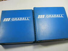 GRADALL G3WD COMBINED SERVICE MANUAL OPERATOR'S REPAIR OME VOL 1 & 2 7739-4005