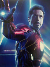 Robert Downey Jr. 'Iron 8x10 Photograph Signed Autographed Free Shipping