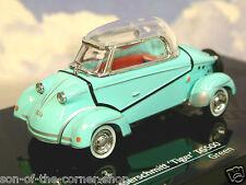 VITESSE DIECAST 1/43 1958-61 MESSERSCHMITT TIGER TG500 BUBBLE CAR GREEN 29053