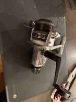 Vintage Zebco Lancer 4140 Graphite Spool Metal  Japan spinning reel Fishing