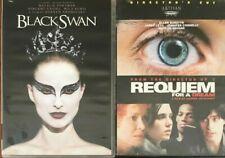 Black Swan/Requiem for a Dream (Dvd, 2011)*Darren Aronofsky Natalie Portman