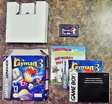 Rayman 3 (Nintendo Game Boy Advance) COMPLETE Classic game