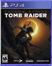 Playstation 4 Shadow Of Tomb Raider Brand New Video Game