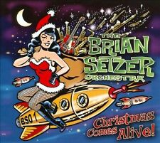 1 CENT CD Christmas Comes Alive! - The Brian Setzer Orchestra