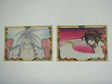 Japanese Anime Shaman King Sticker x2 Takei Hiroyuki