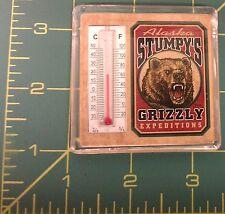 Alaska Magnet Stumpys Alaska Souvenir thermometer Magnet Grizzly Expeditions