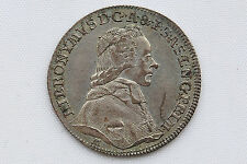 Austria Salzburg Pattern Ducat 1782 Struck in Silver XF/AU Condition Rare !!