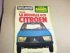 L AUTO JOURNAL - N° 6  - ANNEE  1978  *