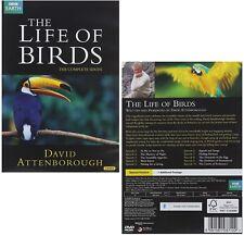 LIFE OF BIRDS (1998): COMPLETE David Attenborough BBC TV Series  NEW DVD UK