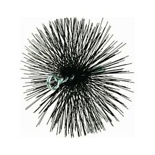 MEECO'S RED DEVIL 30800 8-Inch Round Wire Chimney Brush