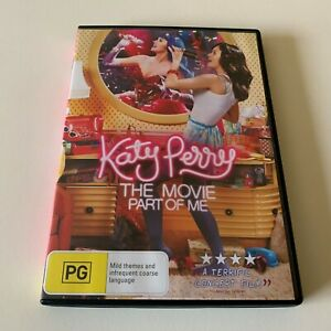 Katy Perry The Movie Part Of Me (DVD 2012) Region 4 Very Good Condition