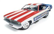 Auto World 1:18 Damn Yankee 1970's Plymouth Cuda Funny Car AW1164