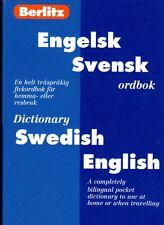 Wörterbuch schwedisch,Berlitz Engelsk Svensk Swedish English, Dictionary NEW