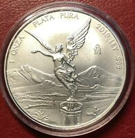 "2019 Mexico 1oz Silver Libertad Onza - BU *Treasure Coin Of Mexico ™"""