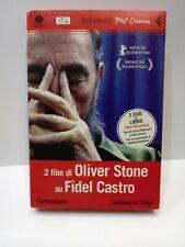 2 FILM  OLIVER STONE  FIDEL CASTRO COMANDANTE - LOOKING FOR FIDEL DVD