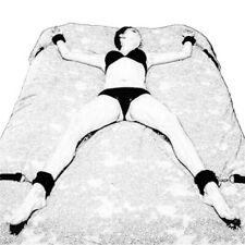cinghie legature a letto cavigliere manette sexy restrizioni bdsm costrizione