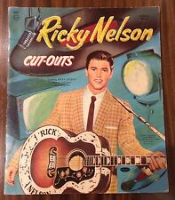 """Ricky Nelson ORIGINAL 1959 """"Cut Outs"""""""