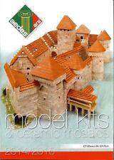aedes ars: Katalog 2014/2015 - Modellbausätze aus Keramikteilen