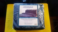 Hannah Linen King Sheet Set, 1800 Series Premium Set, Paisley Six Pieces Bed...