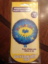 """18"""" Foil Personalized Happy Birthday Kids Party Balloon Name on balloon is Kyle"""