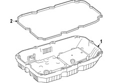 MERCEDES-BENZ 7252703707 GENUINE OEM TRANS PAN