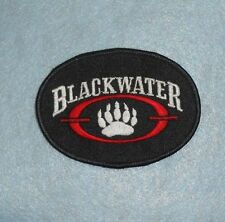 "Blackwater Transport Inc Patch -Trucking - 3 1/2"" x 2 1/2"""