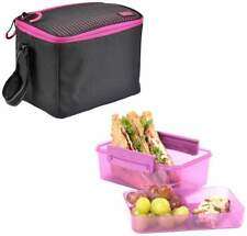 Polar Gear 'Active Lunch' Personal Cool Bag with Sandwich Box - Berry