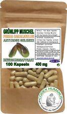 100 Kapseln 400 mg Grünlippmuschel. BEWEGUNGSAPPARAT GELENKE ARTHROSE KNORPEL...
