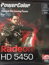 NEW! Radeon  HD 5450 2GB DDR3 HDMI PCI Express Dual-Link DVI-D/HDMI/VGA