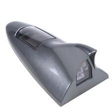 Grey Solar Car Tail Light Shark Fin Antenna Style Warning Lamp for Jeep BMW Audi