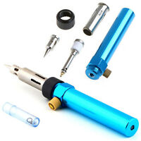 Gas Blow Torch Soldering Solder Iron Gun Butane Cordless Welding Pen Burner HGUK