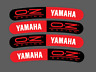 Set Stickers for Wheels Oz- Racing Curved Yamaha R1 R6 Tmax Xmax Red