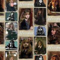Fat Quarter Hermione Harry Potter Digital Print 100% Cotton Quilting Fabric