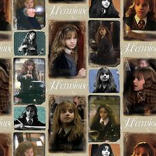 Fat Quarter Hermione Harry Potter Digital Print 100% Cotton Quilting Fabric