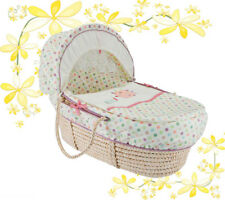 NEW 3 Piece Lollipop Lane Pickles And Twoo Moses Basket Dressing Bedding Covers.