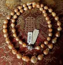 """Kenneth Jay Lane Huge Baroque Freshwater Pearls 36"""" NWT $400 SPECTACULAR!"""
