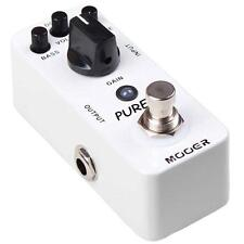 Mooer Micro Series Pure Boost Effects Pedal - 20 dB Clean Boost - BRAND NEW