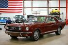 1965 Ford Mustang GT 1965 Ford Mustang GT 56166 Miles Vintage Burgundy Coupe 289ci V8 3-Speed Manual