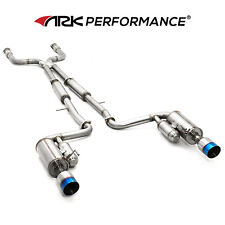 ARK Performance GRiP Exhaust with Burnt Tips for 2011+ Infiniti M37 Q70 Fuga Y51