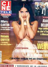 SALMA HAYEK_MELANIE GRIFFITH_ALAIN DELON_HITCHCOCK CINE TELE REVUE ©TBC