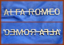 ALFA ROMEO GIULIA TI / SUPER / 1300 TI - SCRITTA LOGO CROMATA