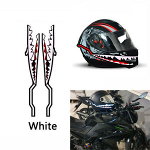 Motorcycle Helmet LED EL Light Strip Shark Style Flash Night Signal Waterproof