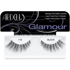 Ardell Glamour 118 Black Fake False Eyelash Strip Lash Extension