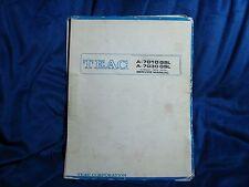 New listing Original Teac A-7010 Gsl A-7030 Gsl Reel Tape Deck Recorder Service Manual