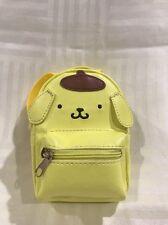 Sanrio Original: Mini Pom Pom Purin Backpack Keychain / Accessory Chain (DSJ-1)