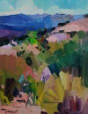 JOSE TRUJILLO Oil Painting IMPRESSIONISM SOUTHWEST LANDSCAPE MODERNIST ARTIST