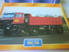 Super Trucks Baustellen LKW Niederlande Ginaf F 480, 1978