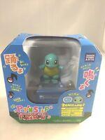 Pop'n step Pokemon Squirtle Talking Dancing Toy FigureTakara Tomy Japan