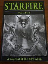 Starfie Volume Ii No. 2 A Journal of the New Aeon